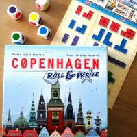 Un Œil sur COPENHAGEN - Roll & Write